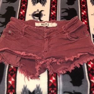 Brandy Melville cutoff shorts